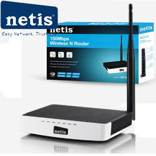 NETIS WF2411 wifi 150Mbps AP/router, 4xLAN, 1xWAN