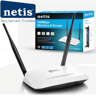 NETIS WF2419 wifi 300Mbps AP/router, 4xLAN, 1xWAN
