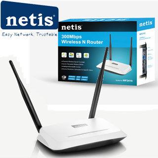 NETIS WF2419D wifi 300Mbps AP/router, 4xLAN, 1xWAN
