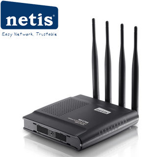 NETIS WF2780 wifi AC 1200Mbps AP/router, 4xLAN, 1x