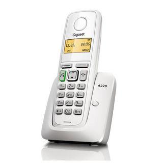Gigaset A220 Telefónny prístroj biely