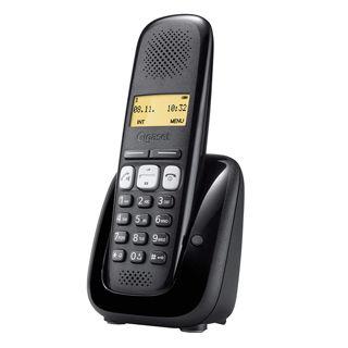 Gigaset A250 Telefónny prístroj čierny