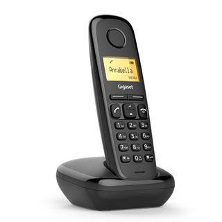 GIGASET A170 Telefónny prístroj čierny
