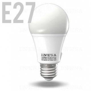 INESA LED žiarovka E27/GLS/11W/3000K/806lm