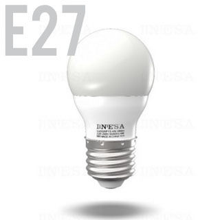 INESA LED žiarovka E27/GLS/4W/3000K/320lm