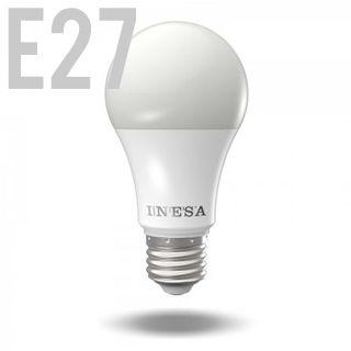 INESA LED žiarovka E27/GLS/7,5W/3000K/680lm