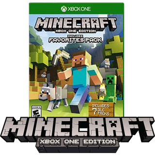 XBOX ONE MINECRAFT Favorites Pack