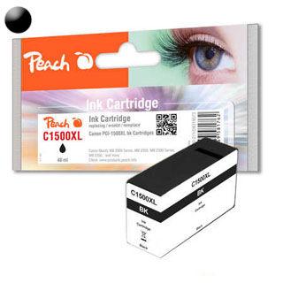 PEACH Cartridge CANON PGI-1500 Black PI100-271