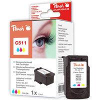 Cartridge Peach kom. CANON CL-511 Color PI100-146