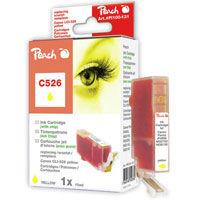 Cartridge Peach kom. CANON CLI-526XL Y PI100-131