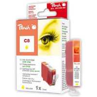 Cartridge Peach kom. CANON chip CLI-8Y PI100-68