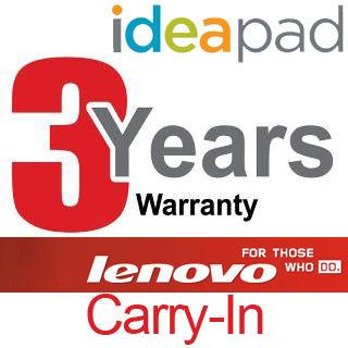 LENOVO Rozšírenie záruky 3YR Carry In IdeaPad
