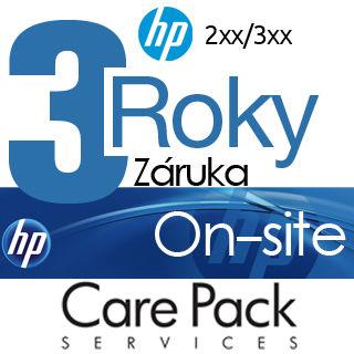 HP Rozšírenie záruky na 3 roky On-site HP 2xx/3xx
