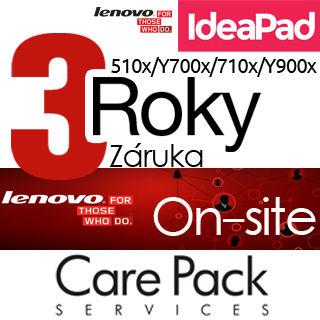 LENOVO Rozšírenie 3r OnS/2r Depot IdeaPad 510/710x