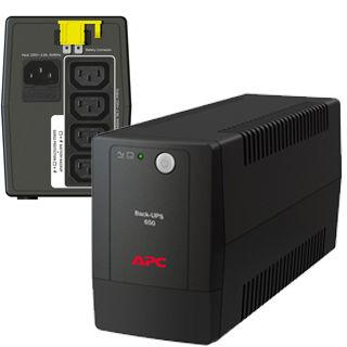 APC Back-UPS 650VA/325W, 230V, AVR, 4x IEC Sockets