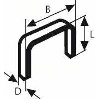 BOSCH spony typ53 nerez 12/11,4