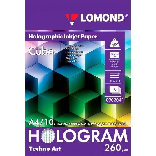 LOM Fine Art Techno Cube 260g/m2 10sh A4