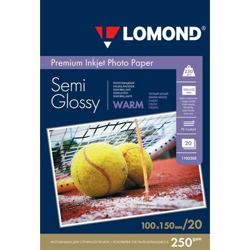 LOM - Premium Pho Semi Glossy 250g/m2 20/10x15 W