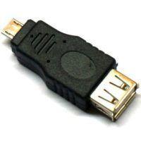 Redukcia Micro USB Male na USB A Female OTG