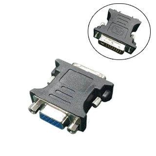 GEMBIRD Redukcia DVI-A 24pin/VGA 15pin čierna